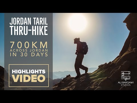 Jordan Trail Thru-Hike in 3 Minutes