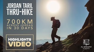 Jordan Trail Thru-Hike in 3 Minutes