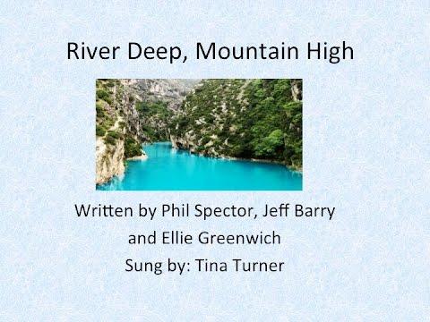River Deep, Mountain High w/Lyrics