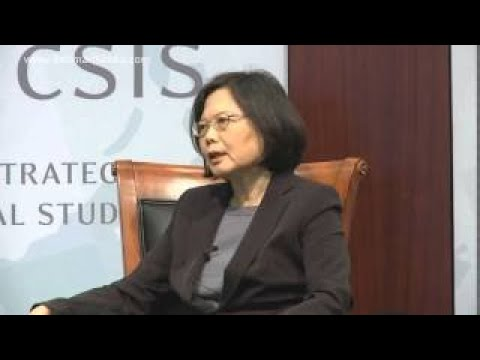 Taiwan President Dr. Tsai Ing wen Speech
