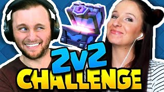 Clash Royale | OWNING FACE IN THE 2v2 CHALLENGE! (silly decks) thumbnail
