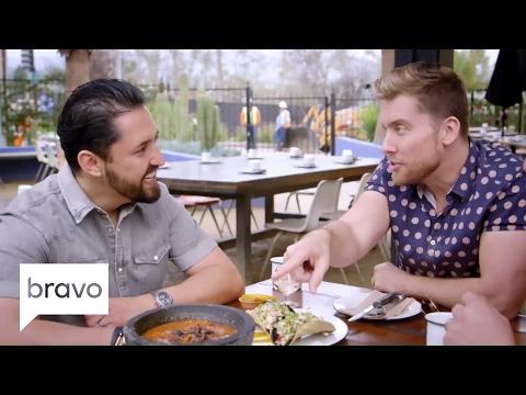 Going Off The Menu: Lance Bass and Graham Elliot Eat Hot Crickets (Season 2, Episode 2) | Bravo