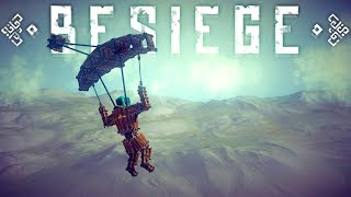 Besiege Best Creations - High Flying Extreme Creations! - Tankless Track? - Besiege Gameplay