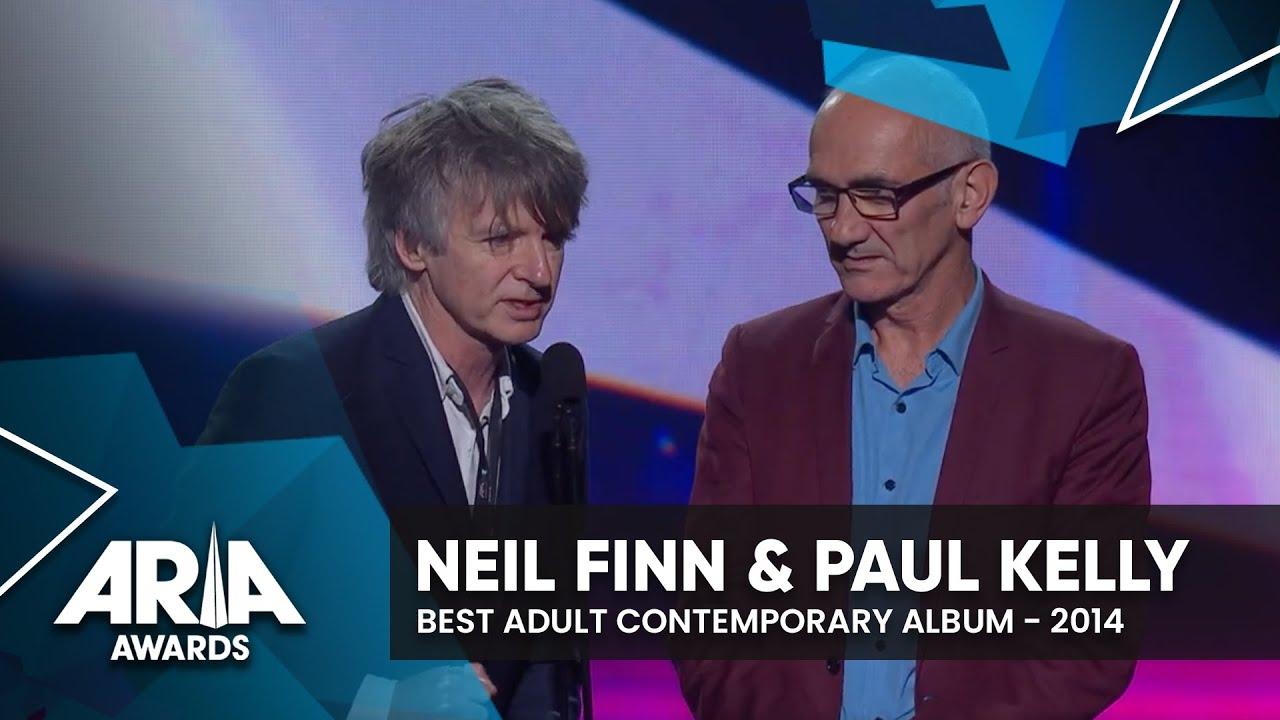 Neil Finn & Paul Kelly win Best Adult Contemporary Album   2014 ARIA Awards