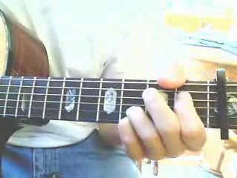 """You're a God"" Vertical Horizon CHORDS"