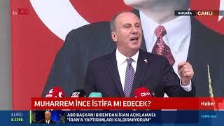 Muharrem İnce: CHP ile yolumu ayırıyorum