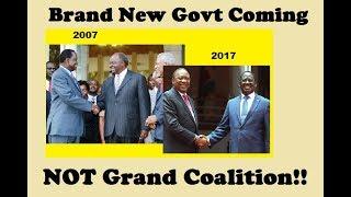 Prepare For A Brand New Government: A Peek Into Raila, Uhuru MOU