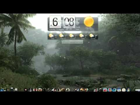 htc weather widget for windows 7 youtube. Black Bedroom Furniture Sets. Home Design Ideas