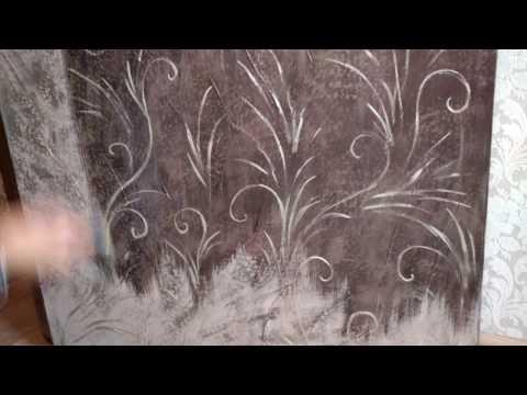 Как обновить старую дверь своими руками фото