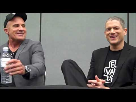 Prison Break  Wentworth Miller, Dominic Purcell  WonderCon 2017