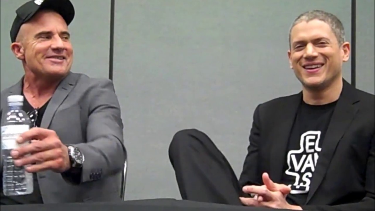 Prison Break Wentworth Miller Dominic Purcell Interview