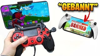CHEATEN With BANNTEN controllers in Fortnite Mobile! (Autoclicker, Mouse & Keyboard, Mods) | Wannabe
