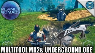 planet nomads   multitool mk2 underground ore   let s play planet nomads gameplay   s01e02