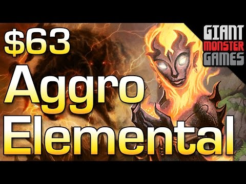 Budget Mtg Deck Tech - Modern Elemental Aggro ($63)