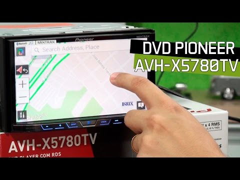 DVD Pioneer AVH-X5780TV - TV Digital AppRadio Live 2DIN - An