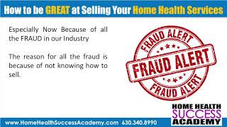 Home Health Marketing: Why Home Health Agencies Commit Fraud