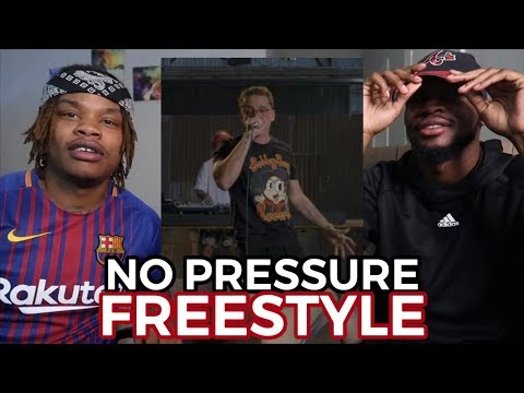LOGIC - NO PRESSURE FREESTYLE - REACTION