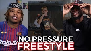 LOGIC - NO PRESSURE FREESTYLE - REACTION