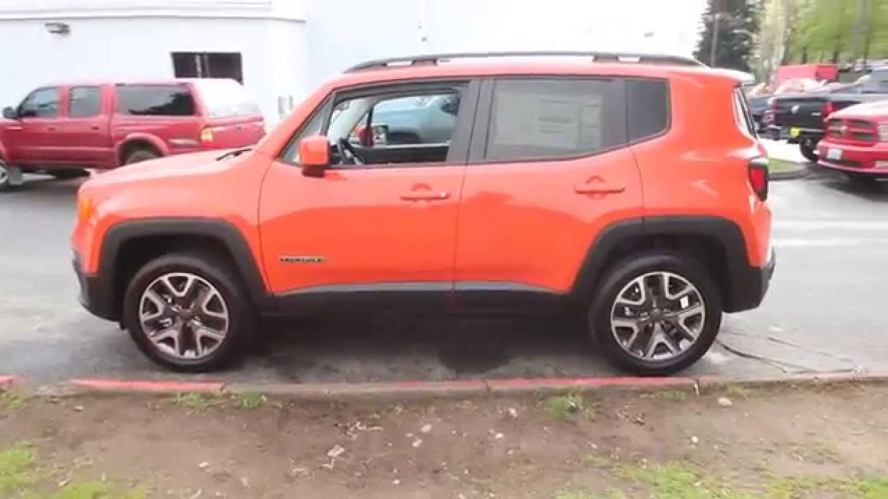 2015 jeep renegade latitude orange redmond seattle youtube. Black Bedroom Furniture Sets. Home Design Ideas