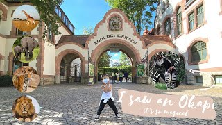 Leipzig Zoo 🐯 | Gondwanaland, Germany | Second biggest rainforest in the world 😍 | Athena Cerfinna