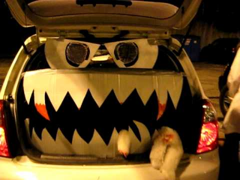 award winning trunk or treat trunk decorations youtube. Black Bedroom Furniture Sets. Home Design Ideas
