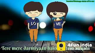 Tere mere darmiyan hai baatein ankahi😍 female version what's app status