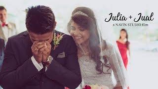 From Bench Partners To Life Partners   Julia & Jual   Mumbai Wedding Highlights Film