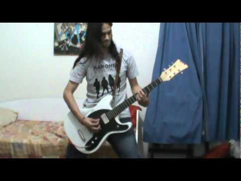 Ramones Howling At The Moon Sha La Laguitar Cover Youtube