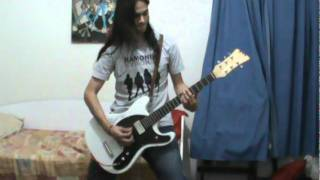 RAMONES -♫ Howling At The Moon (Sha-la-la)(Guitar cover)