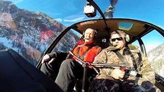 Полет на вертолете над Алтаем(Полет на вертолете в Горном Алтае в феврале 2014 года. Взлет у базы Турсиб. Полет над горами к Телецкому озеру...., 2014-05-22T13:12:56.000Z)