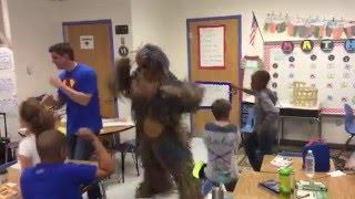 Deployed Dad Surprises Military Kids using the Running Man Challenge