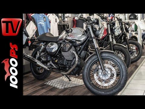 Moto Guzzi V7 Umbaupakete | Moto Guzzi Garage Kits - Dapper, Dark Rider & Scrambler