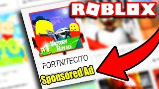 Playing ONLY Roblox Sponsored Games?