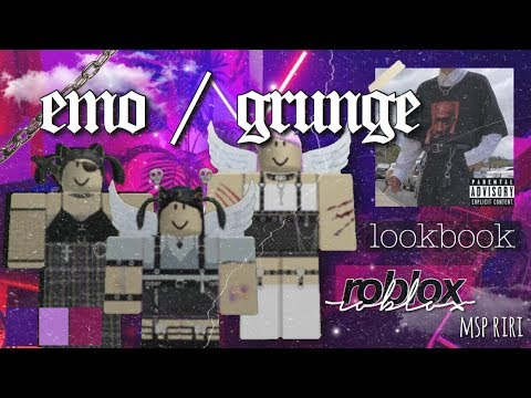 Roblox Outfit Ideas Lookbook Grunge Edition - Aesthetic Roblox Outfits Grunge Emo Themed Youtube