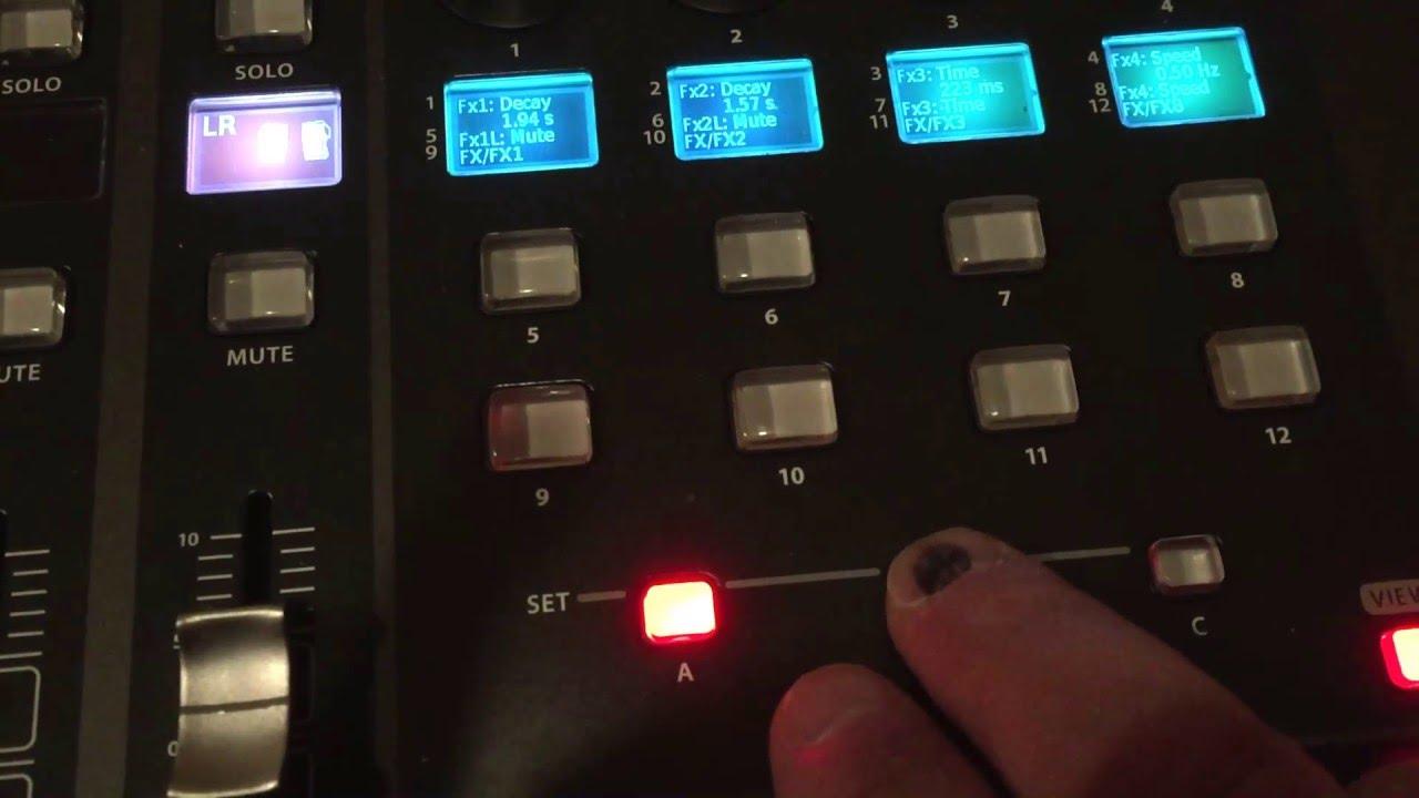 behringer x32 tutorial videos