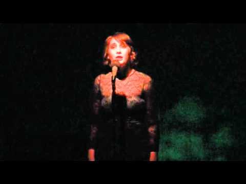 Christina Saragaglia singing 'All Grown Up'