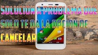 Mi celular no me deja instalar aplicaciones (SOLUCIÓN)