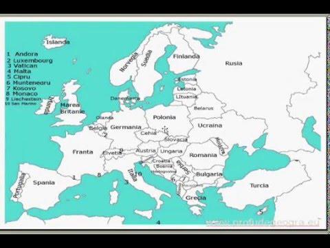 Tarile Europei Youtube