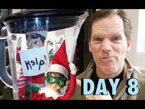 "🥤🤪 ""Shelf Elf"" - Elf on the Shelf Smoothie! 🤪🥤 :: DAY EIGHT"