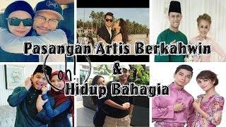 pasangan artis berkahwin dan hidup bahagia