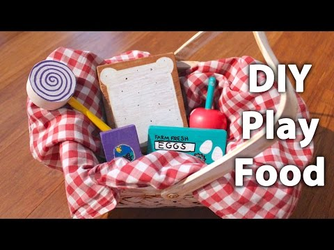 Easy, DIY Wooden Play Food – Project for Parents