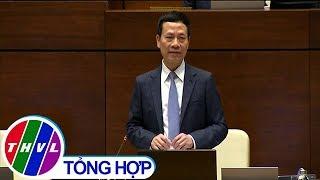 Bộ trưởng Thông tin và Truyền thông Nguyễn Mạnh Hùng trả lời chất vấn