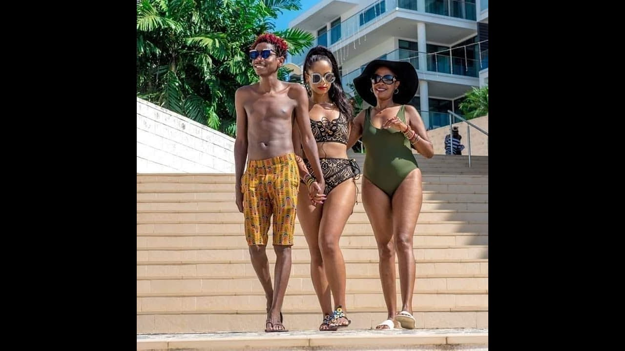 Kenya news today | Eric Omondi's photo with mother-in-law rocking a bikini causes a stir