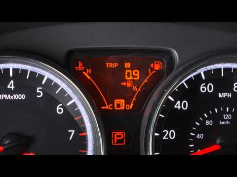 2014 NISSAN Versa Sedan - Twin Trip Odometer/Trip Computer