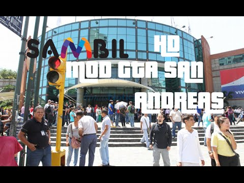 GTA SAN|SAMBIL CARACAS MOD |2015 HD