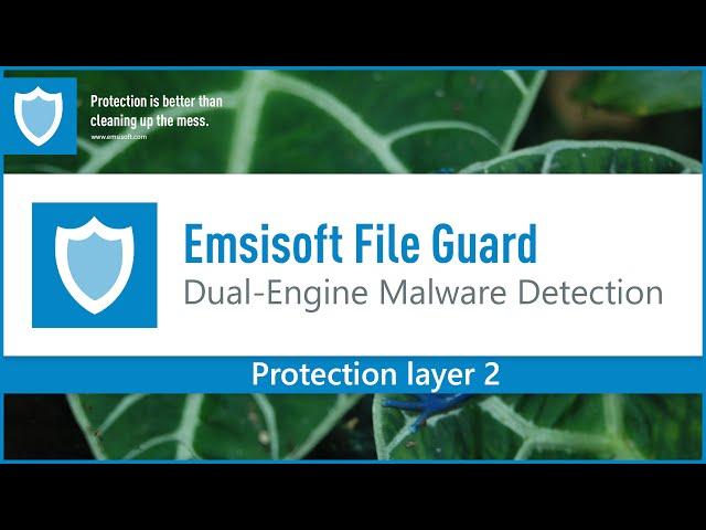 Emsisoft File Guard Demonstration