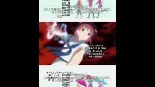 咲 2期(阿知賀編)-OP 「MIRACLE RUSH」StylipS Saki season2(episode of...