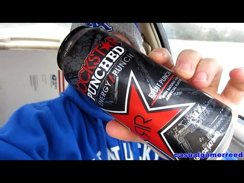 Reed Reviews Rockstar Punched Energy Punch Fruit Punch