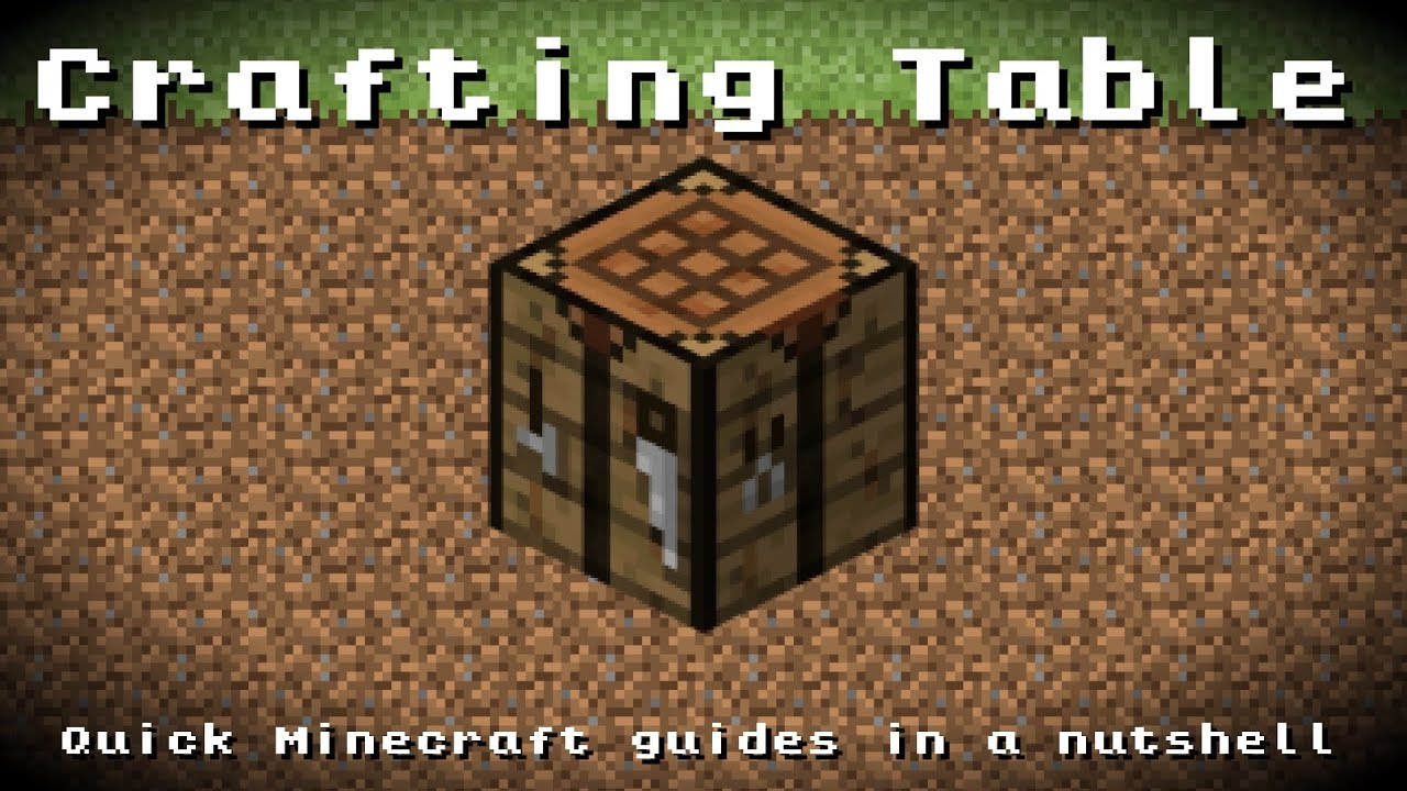 Minecraft - Crafting Table! Recipe, Item ID, Information ... - photo#5