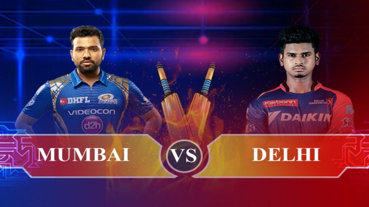 (MUMBAI vs DELHI) T20 Match Real Cricket 19 Live Cricket Score and Commentary | MI vs DC